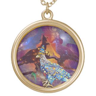 Eagle - № celestial 16 do andarilho colar com pendente redondo