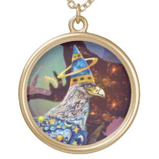 Eagle - № celestial 25 do andarilho colar com pendente redondo