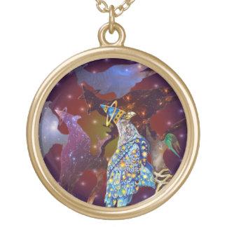 Eagle - № celestial 29 do andarilho colar com pendente redondo