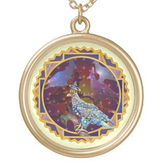 Eagle - № celestial 30 do andarilho colar com pendente redondo