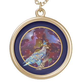 Eagle - № celestial 31 do andarilho colar com pendente redondo