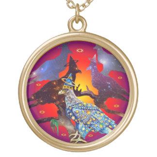 Eagle - № celestial 7 do andarilho colar personalizado