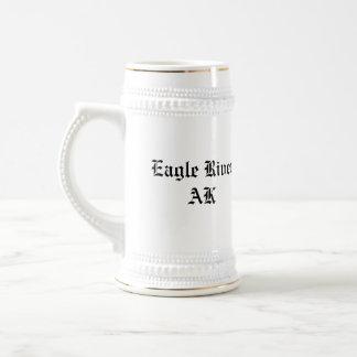 Eagle River, caneca de cerveja de AK