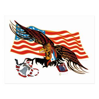 Eagle-Tea-Part-Ver-4 Cartão Postal