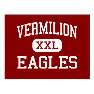 - Eagles - católico Vermilion - Abbeville Cartão Postal