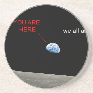 Earth from the Moon - You are here Porta Copos De Arenito