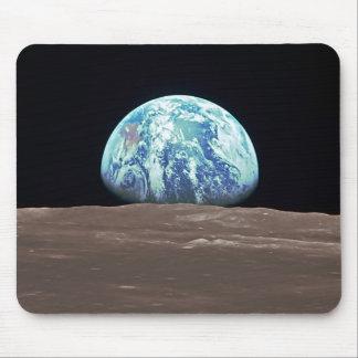 Earthrise da lua mousepad