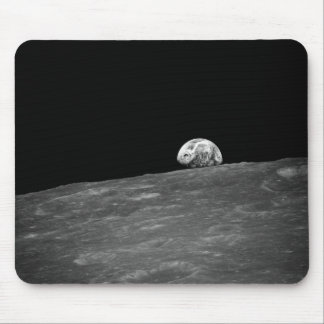 Earthrise da missão da lua de Apollo 8 Mousepad