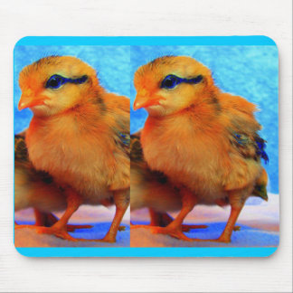Easter Chick-A-Dee-Light Mouse Mats