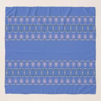 Echarpe azul