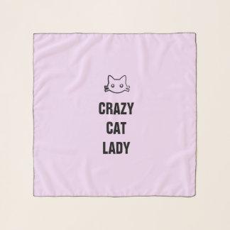 Echarpe Senhora louca do gato