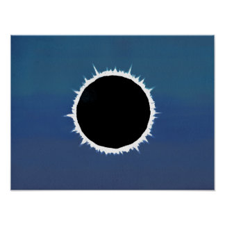 Eclipse solar total - poster