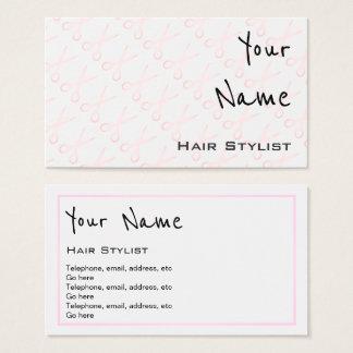 """""""Ecoa"""" cartões de visitas do cabeleireiro"""