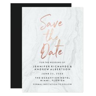 Economias cor-de-rosa do roteiro do ouro do convite 12.7 x 17.78cm