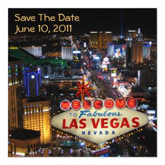 Economias de Las Vegas os convites da data