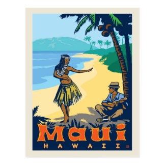 Economias de Maui, Havaí | a data Cartão Postal
