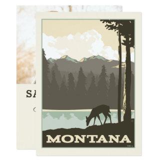 Economias de Montana | a data - foto Convite 13.97 X 19.05cm