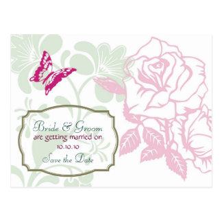 Economias do casamento da felicidade do primavera  cartões postais