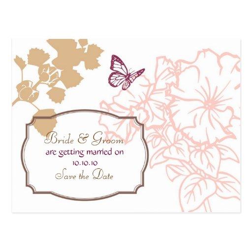 Economias do casamento da felicidade do primavera  cartão postal
