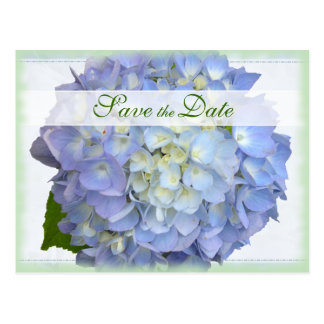 Economias do casamento do Hydrangea da lua azul o Cartão Postal