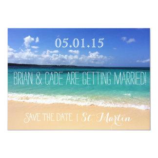 Economias Wedding a data Convite 12.7 X 17.78cm