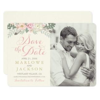 Economias Wedding o primavera Boho do cartão de Convite 12.7 X 17.78cm