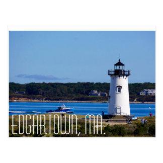 Edgartown, cartão de Massachusetts