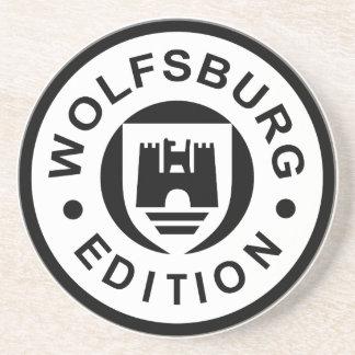 Edição de Wolfsburg (preto) Porta Copos De Arenito