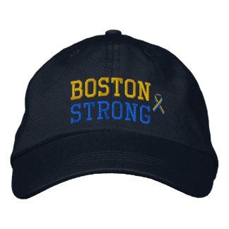 Edição forte da fita de Boston Boné Bordado