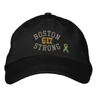 Edição forte de 617 fitas de Boston Boné Bordado