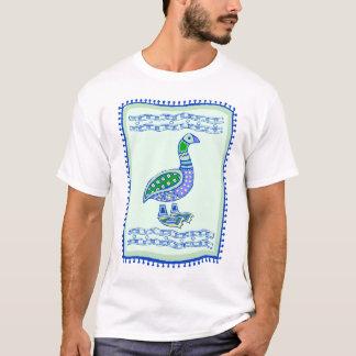 Edredão indiana do ganso t-shirt