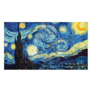 Educação da arte para miúdos & adultos: A noite Cartão De Visita