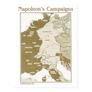 Educação, história, Napoleon, a Europa Central 181 Cartão Postal