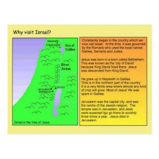 Educação, religião,    cristandade, Israel Cartão Postal