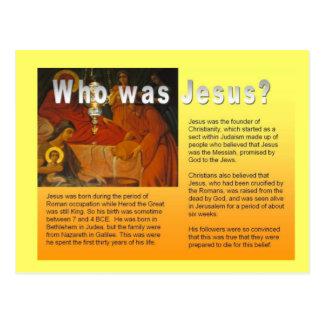 Educação, religião, cristandade, Jesus Cartão Postal