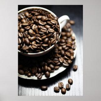 Educado café impressão