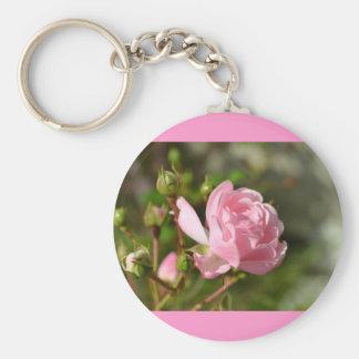Educado porta-chaves com rosarotem chaveiro