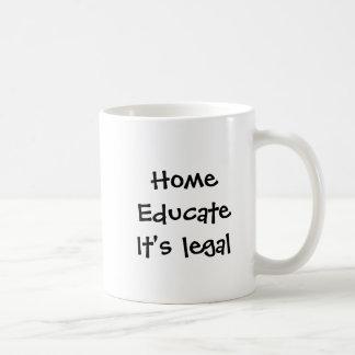 EducateIt Home legal Caneca