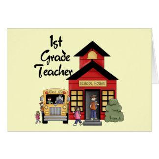 Eduque t-shirt e presentes do professor da categor cartao