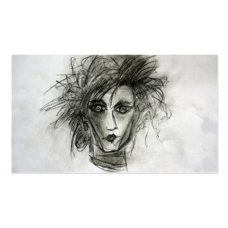 Edward Scissors cartões de visitas do cabeleireiro