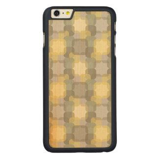 Efeito abstrato capa para iPhone 6 plus de carvalho, carved®