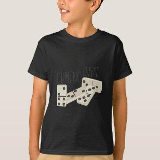 Efeito de dominó t-shirts