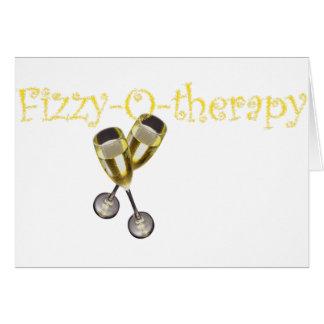 Efervescente-O-terapia Cartão