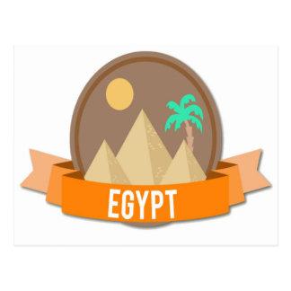 Egipto original cartão postal