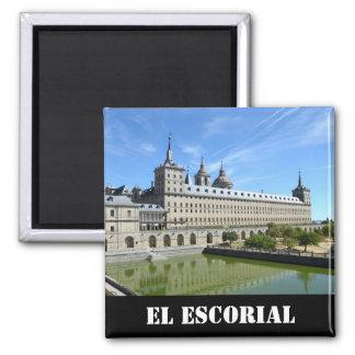 EL Escorial, espanha Ímã Quadrado