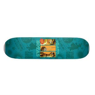 El Gato Con Botas Skate Board Deck