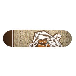 EL Tigre Shape De Skate 19,7cm