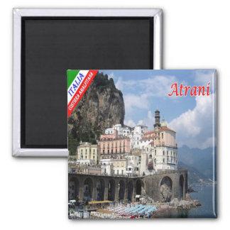 ELE - costa de Italia - de Amalfi - Atrani Ímã Quadrado
