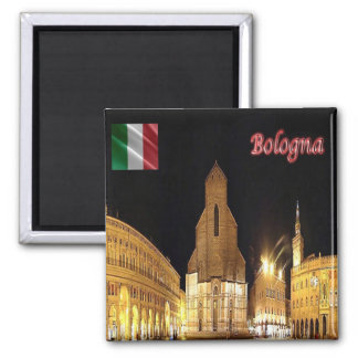 ELE - Italia - Bolonha Ímã Quadrado