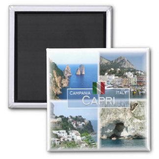 ELE - Italia # Campania - Capri - Ímã Quadrado